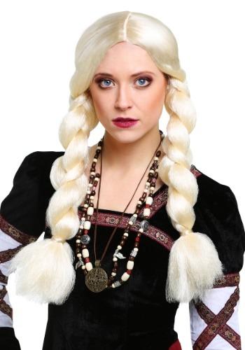 Blonde Viking Wig for Women