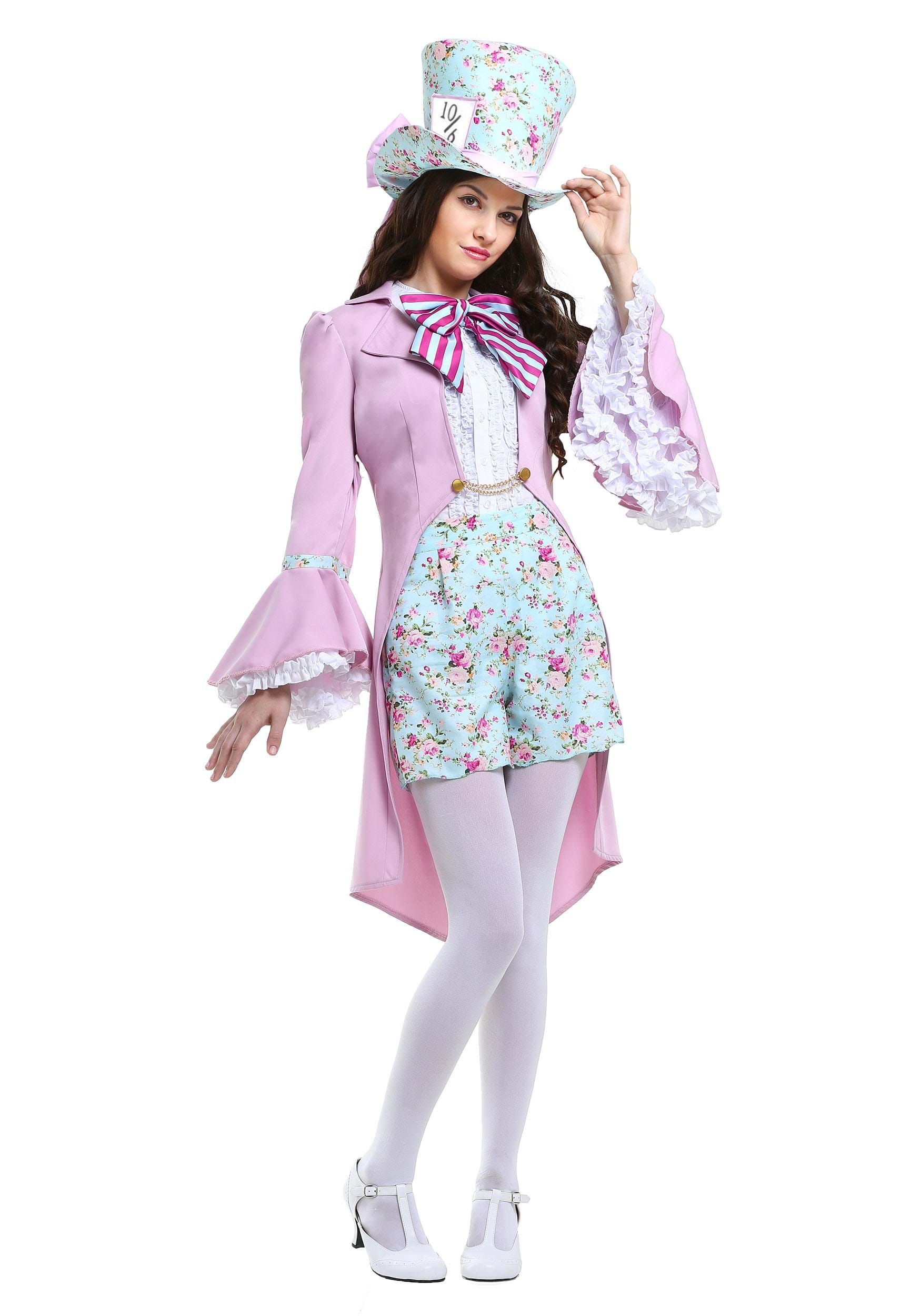 Pretty Mad Hatter Costume For Women