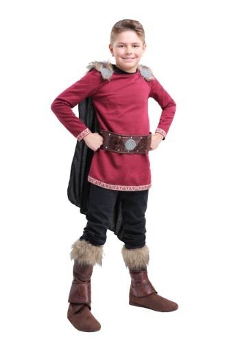 Burgundy Viking Costume for Boys