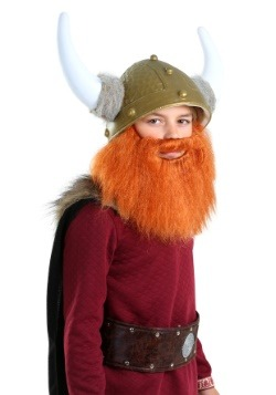 Child Red Viking Beard