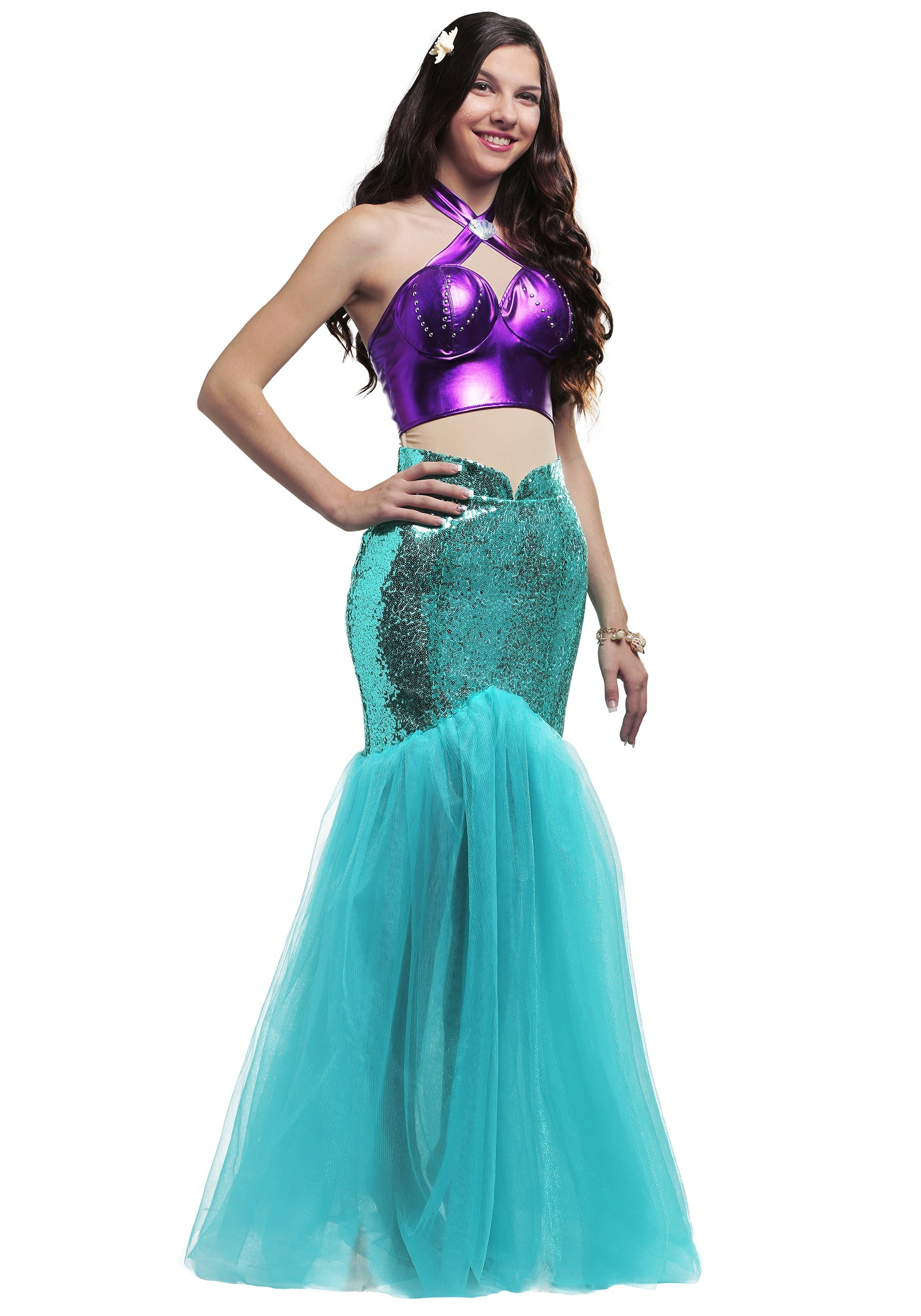 Mystical Mermaid Plus Costume Women