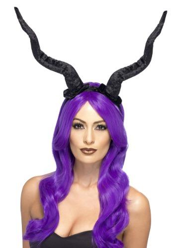 Krampus Horns Headband for Adults