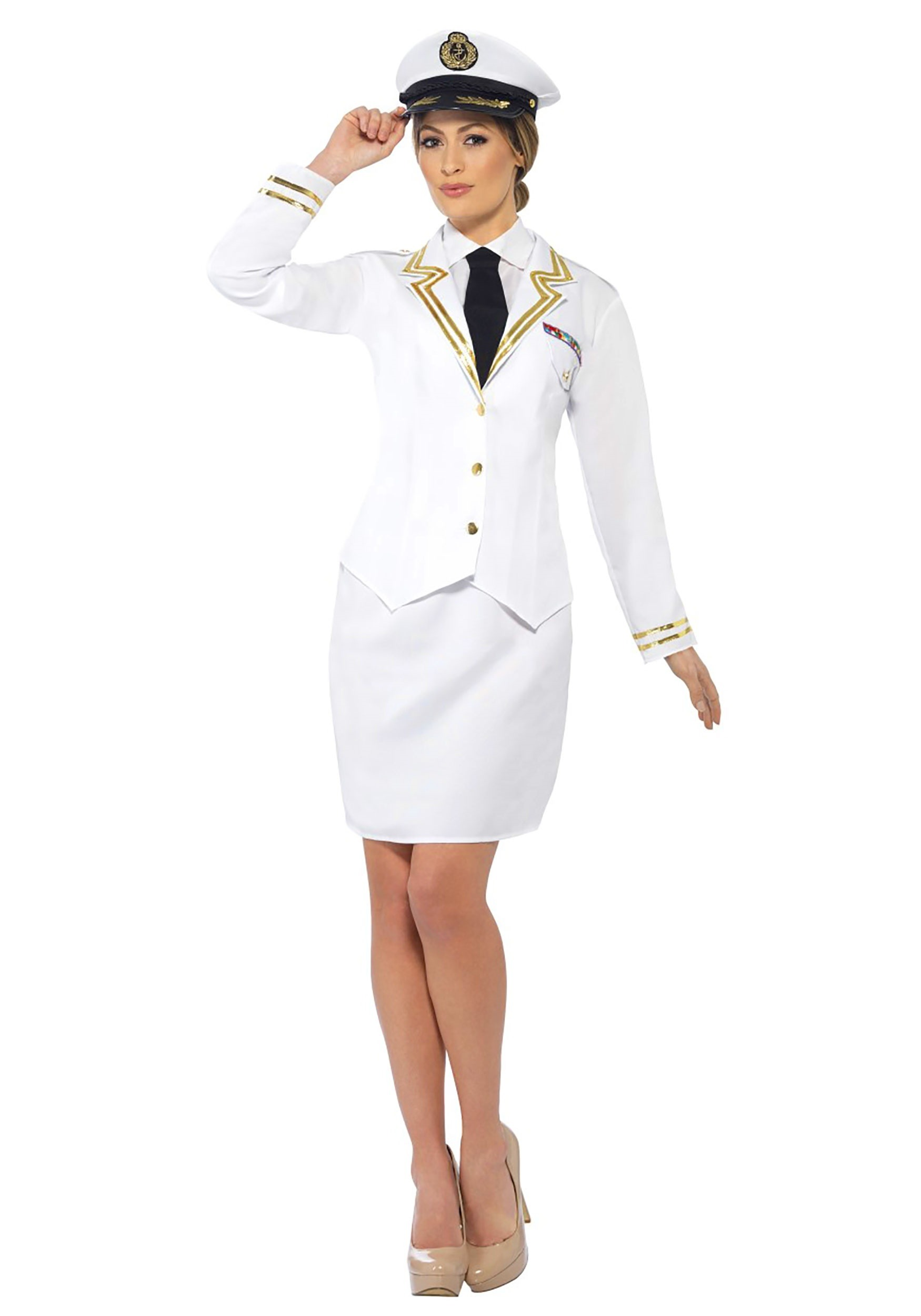 Naval Officer Plus Size Womens Costume SM44514X