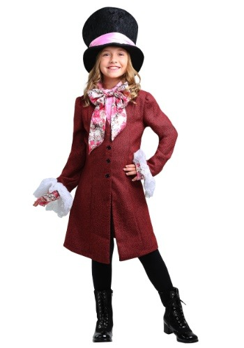 Click Here to buy Mad Hatter Girls Costume from HalloweenCostumes, USA Funds & Shipping