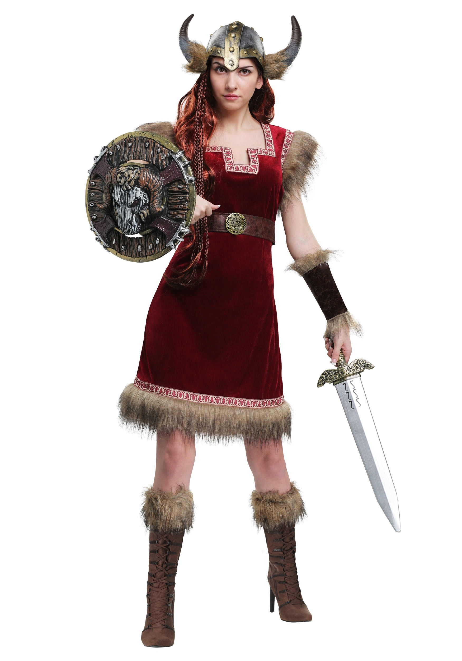 Barbarian Viking Costume for Women