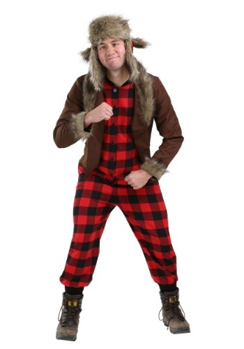 Click Here to buy Wabbit Hunter Costume for Plus Size Men 2X from HalloweenCostumes, CDN Funds