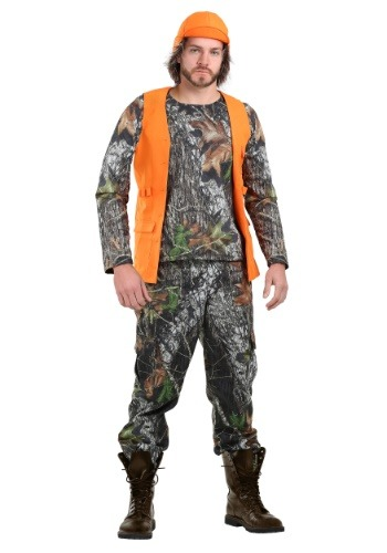 Click Here to buy Camo Hunter Costume for Plus Size Men from HalloweenCostumes, USA Funds & Shipping