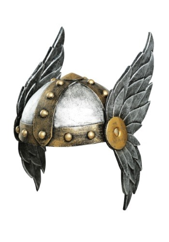 Women's Open Face Winged Helmet FUN6407