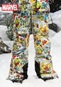 Kids Marvel Retro Comic Snow Pants