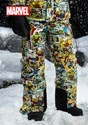 Marvel Comic Print Snow Pants