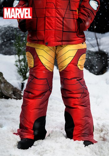 Kids Iron Man Snow Pants upd