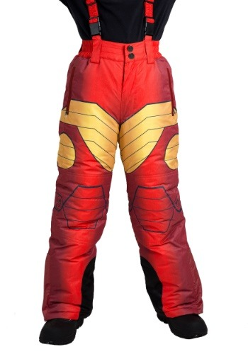 Image of Adult Iron Man Snow Pants