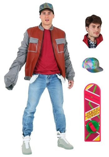 Marty McFly Jacket Package from Back to the Future