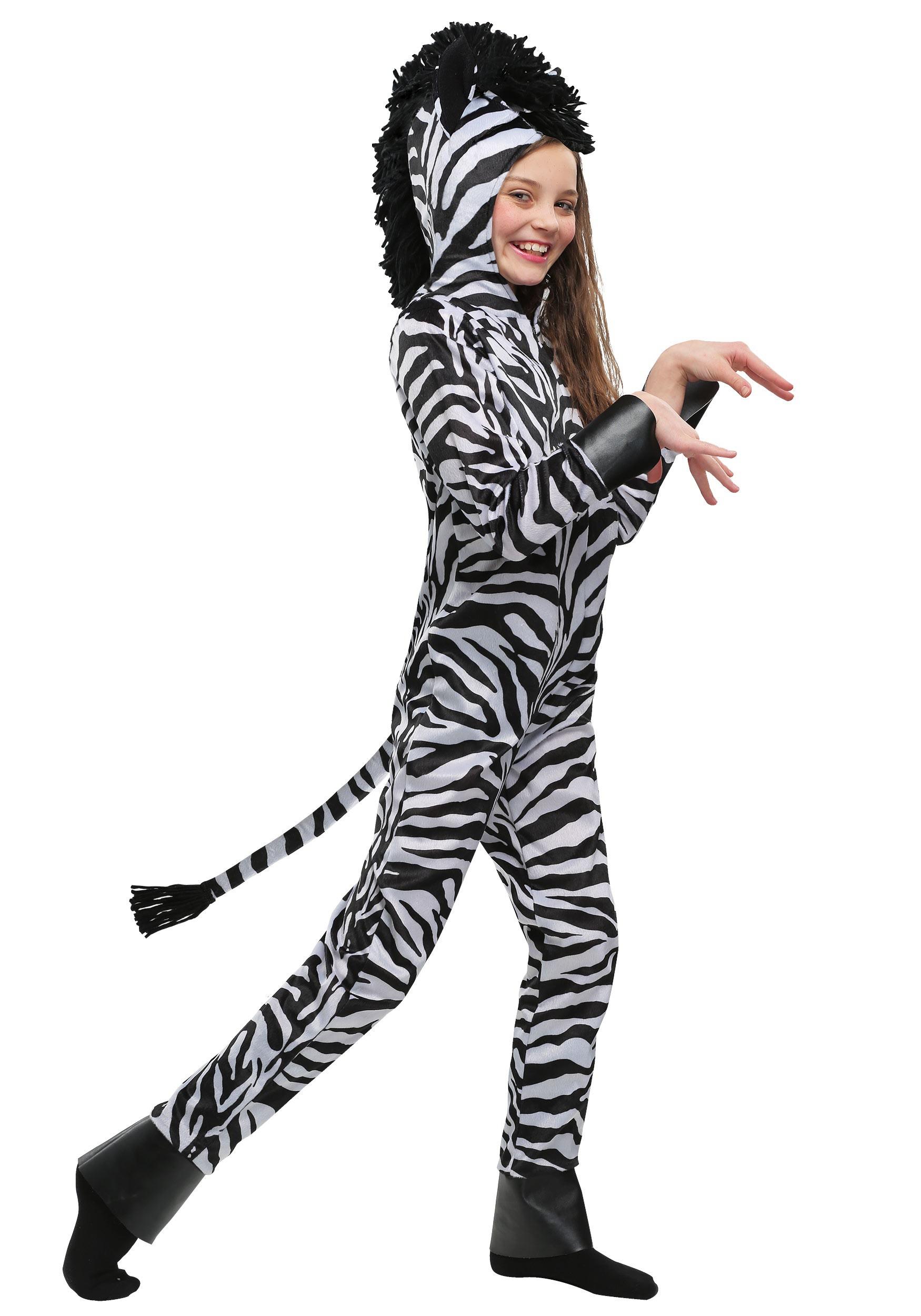 Wild Zebra Kids Costume  sc 1 st  Halloween Costumes & Wild Zebra Costume for Kids