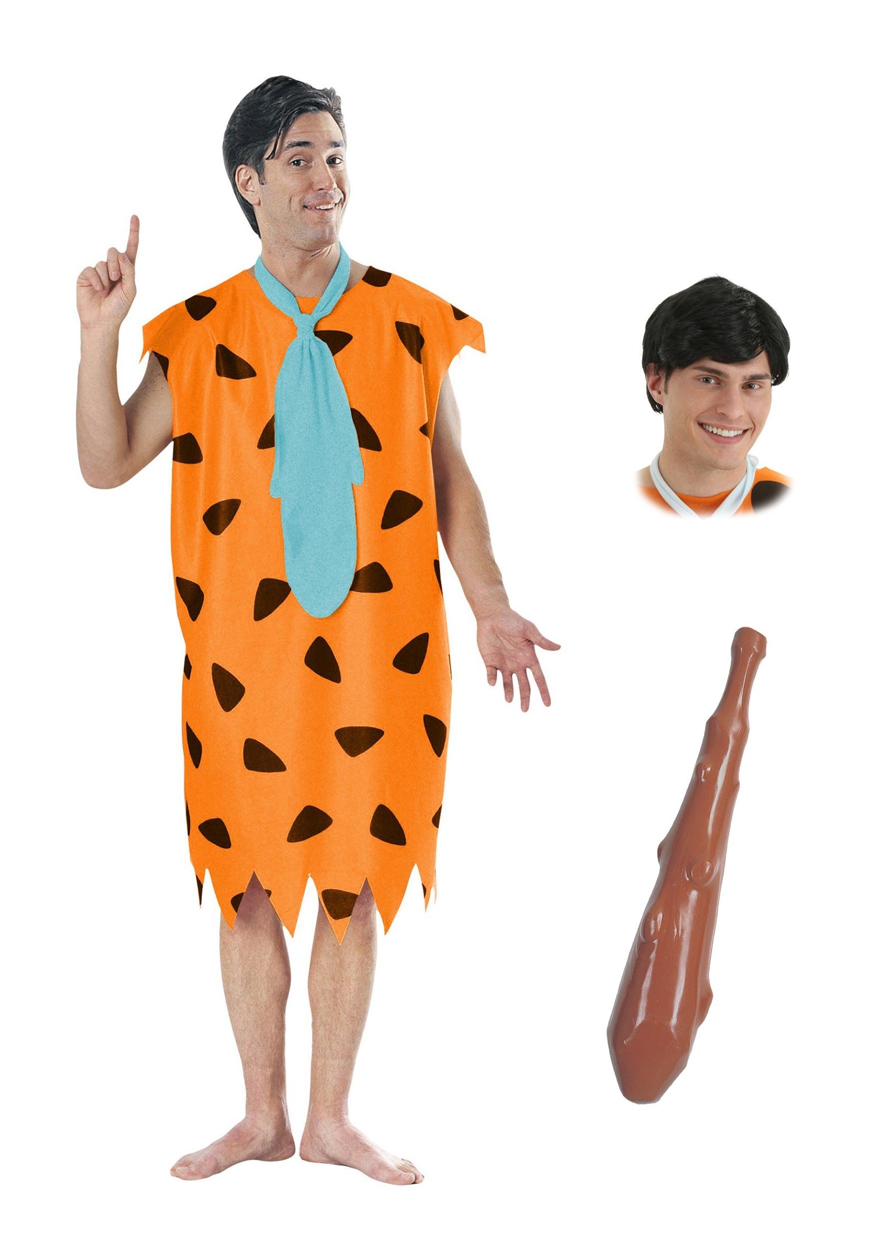 Adult fred flintstone costume package for men mens fred flintstone costume package solutioingenieria Gallery