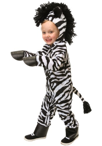 Wild Zebra Costume For Toddlers