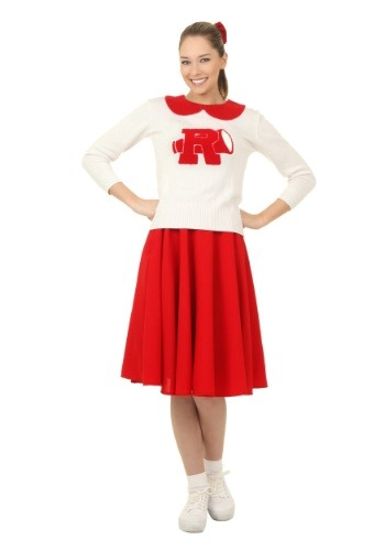 Click Here to buy Grease Rydell High Plus Size Cheerleader Womens Costume from HalloweenCostumes, CDN Funds