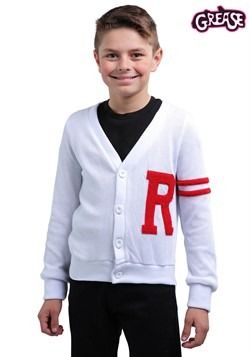Grease Rydell High Boys Letterman Costume Sweater 1
