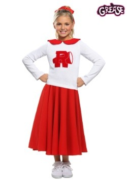 Grease Rydell High Girls Cheerleader Costume