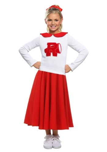 Click Here to buy Grease Rydell High Cheerleader Girls Costume from HalloweenCostumes, CDN Funds