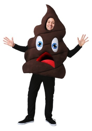 Click Here to buy Happy Poop Costume from HalloweenCostumes, USA Funds & Shipping
