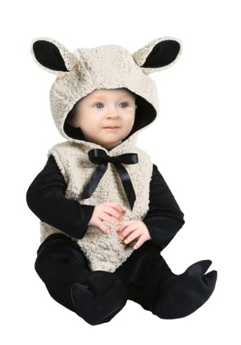 Click Here to buy Baby Lamb Costume for Babys from HalloweenCostumes, USA Funds & Shipping