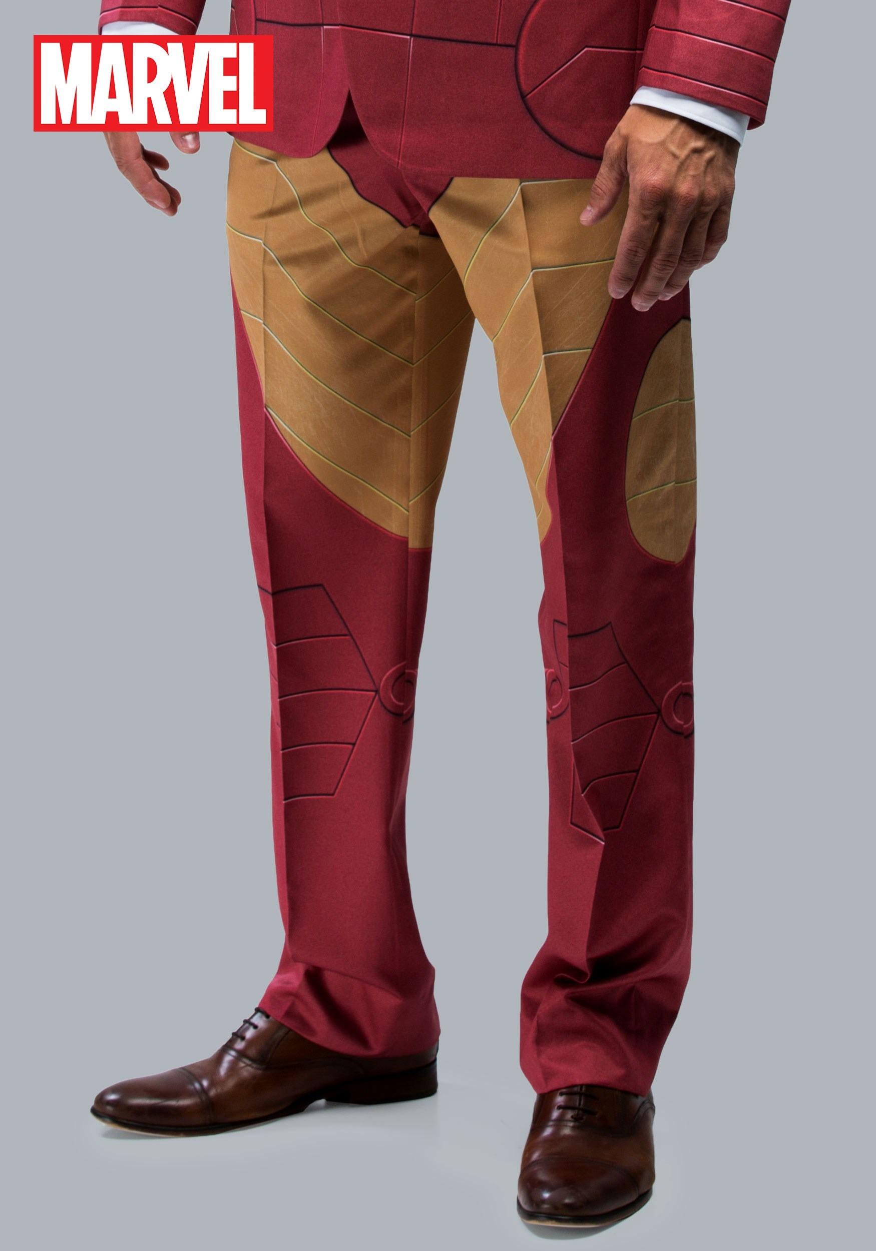 Iron Man Suit Pants (Alter Ego) & Iron Man Costumes - Adult Child Iron Man Movie Costume