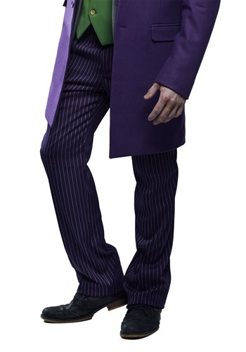 Click Here to buy THE JOKER Slim Fit Suit Pants (Authentic) from HalloweenCostumes, CDN Funds