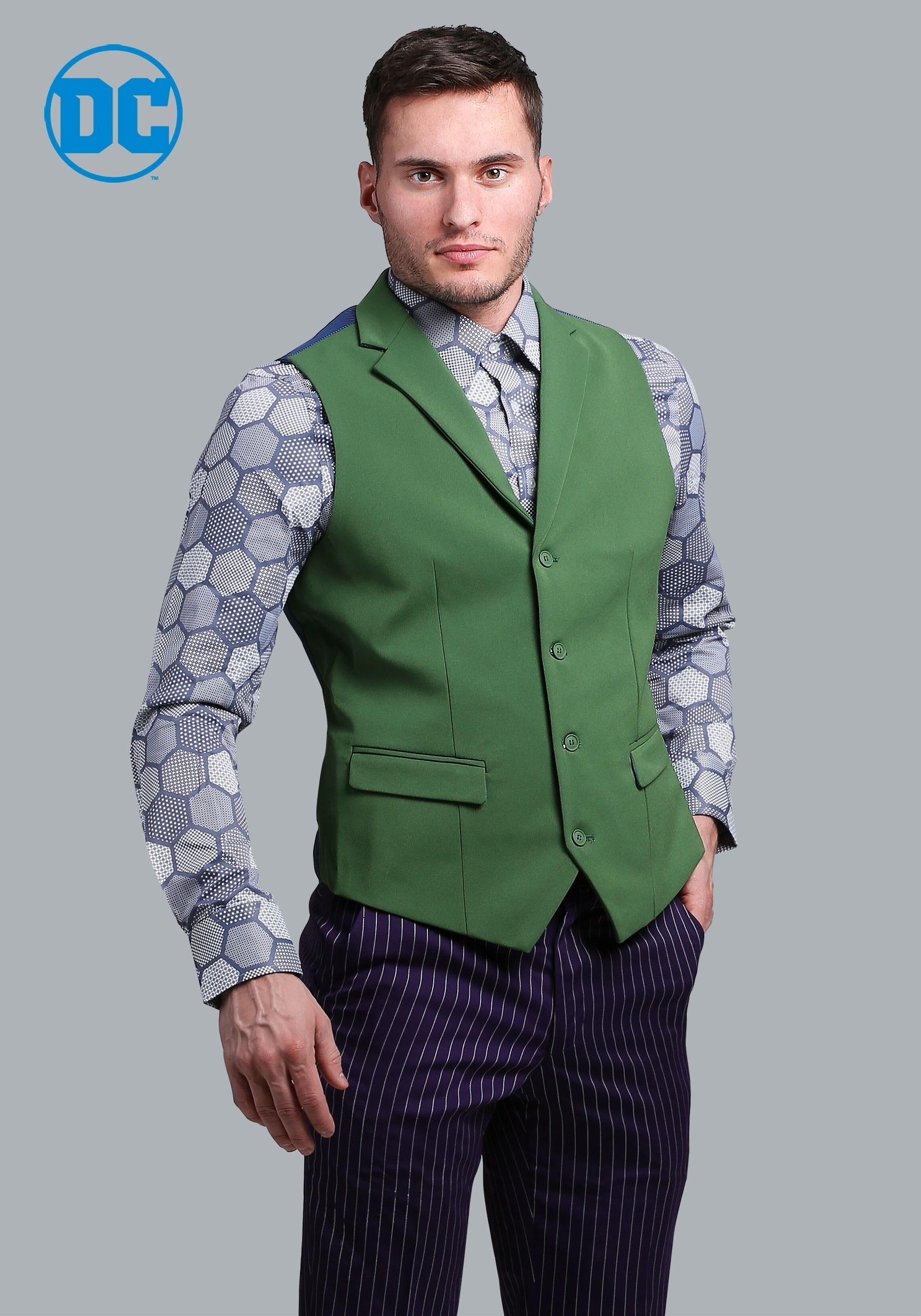 The Joker Suit Vest (Authentic)  sc 1 st  Halloween Costumes & High Quality Elite Costumes - HalloweenCostumes.com