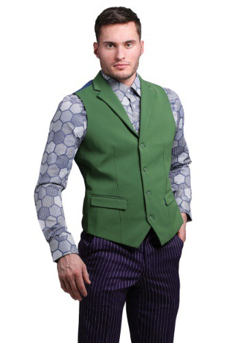 Click Here to buy THE JOKER Slim Fit Suit Vest (Authentic) from HalloweenCostumes, CDN Funds