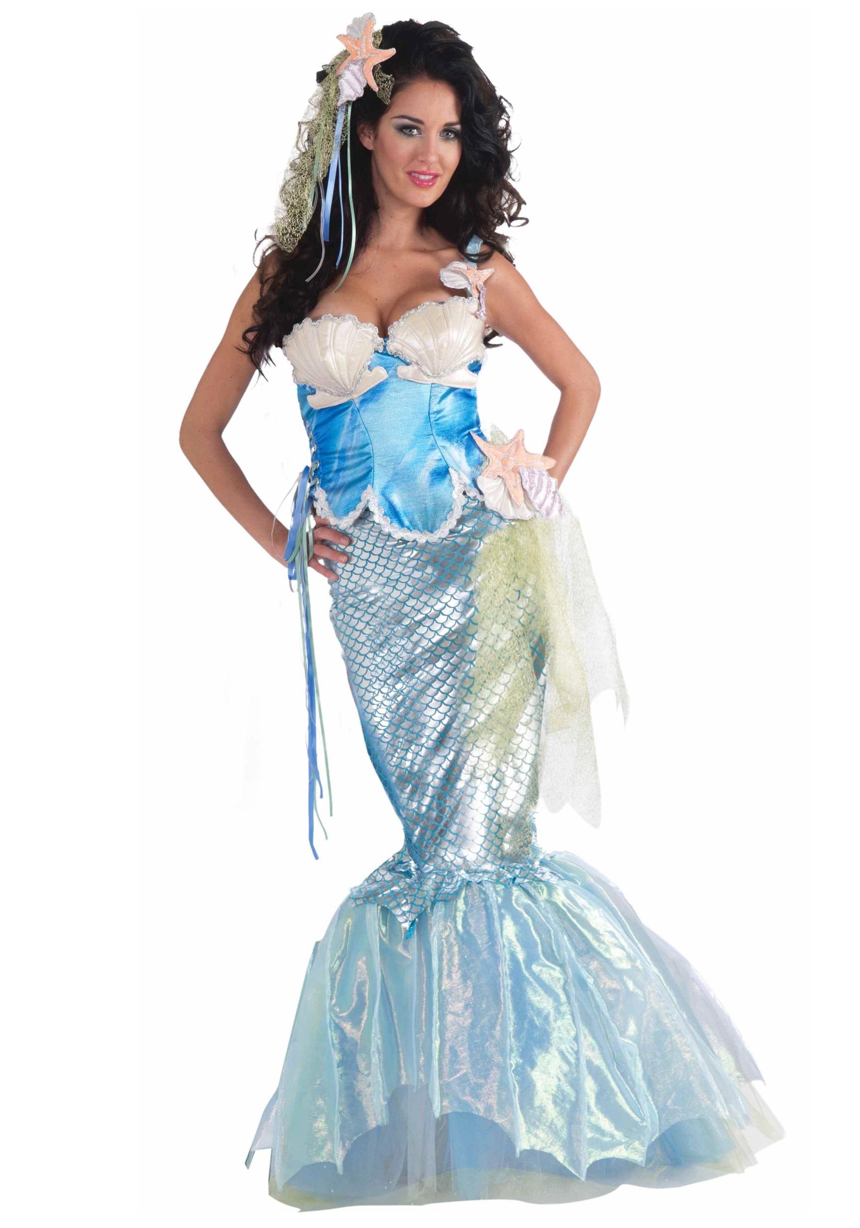 costume homemade mermaids30  sc 1 st  mermaid & How do you make an Aerial mermaid costume