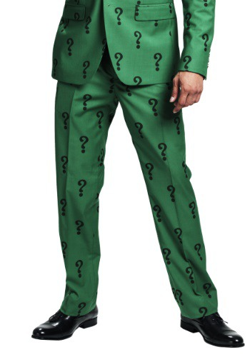 The Riddler Slim Fit Suit Pants (Authentic)
