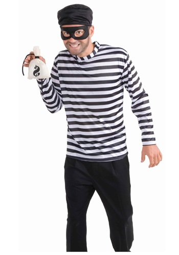 Mens Burglar Costume