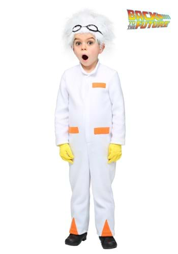 Back to the Future Toddler Doc Brown Costume Upd