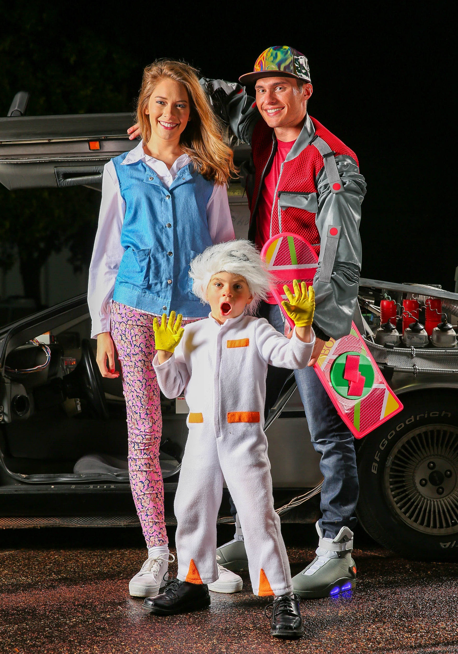 Top Back to the Future Toddler Doc Brown Costume XU72
