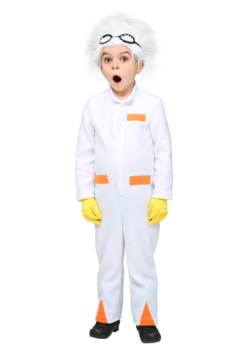 Click Here to buy Back to the Future Toddler Doc Brown Costume from HalloweenCostumes, USA Funds & Shipping