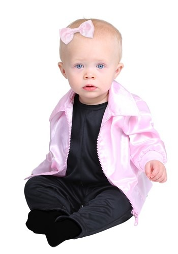 Click Here to buy Grease Pink Ladies Costume for Babies from HalloweenCostumes, CDN Funds