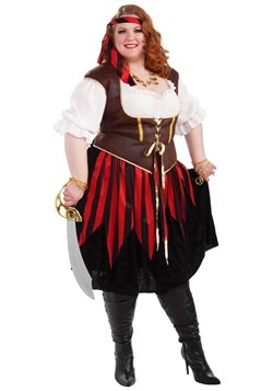Plus Size Pirate Lady Costume Update Main