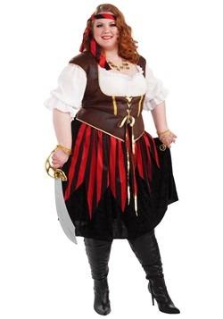 Plus Size Pirate Lady Costume Update Main