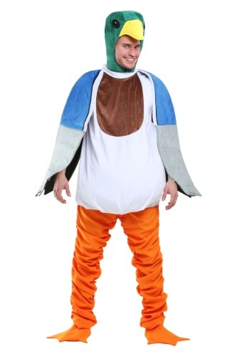 Click Here to buy Mallard Duck Costume for Adults from HalloweenCostumes, USA Funds & Shipping