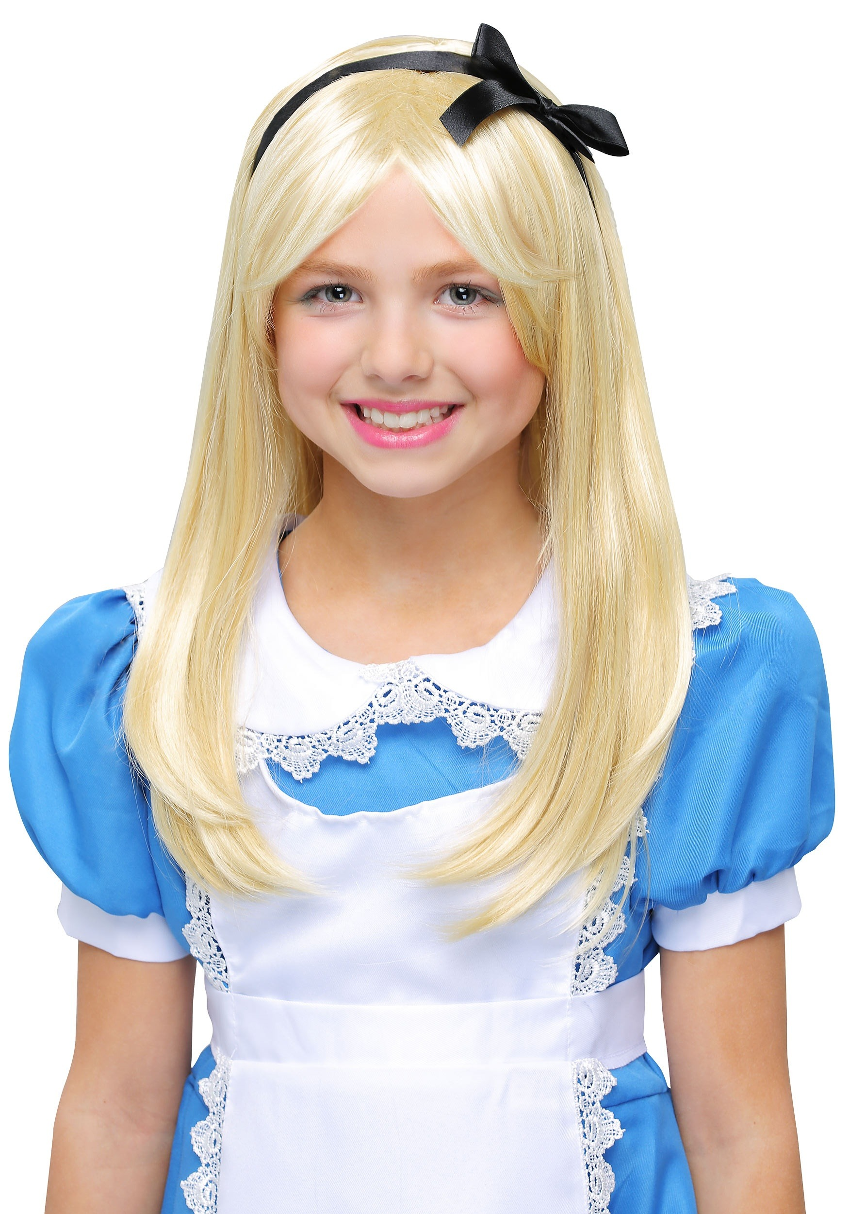 Deluxe Alice Wig For Kids