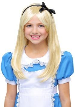 Deluxe Alice Kids Wig