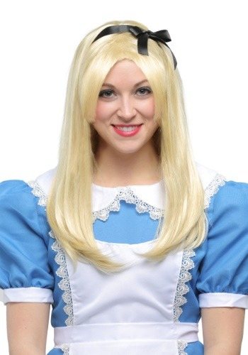 Click Here to buy Deluxe Alice Wig for Adults from HalloweenCostumes, USA Funds & Shipping