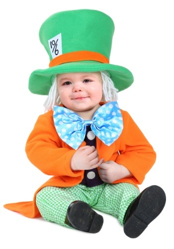 Click Here to buy Lil Hatter Costume for Babys from HalloweenCostumes, CDN Funds