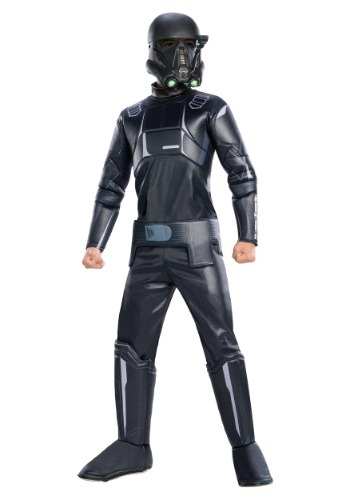 Star Wars: Rogue One Deluxe Shadow Trooper Costume for Boys