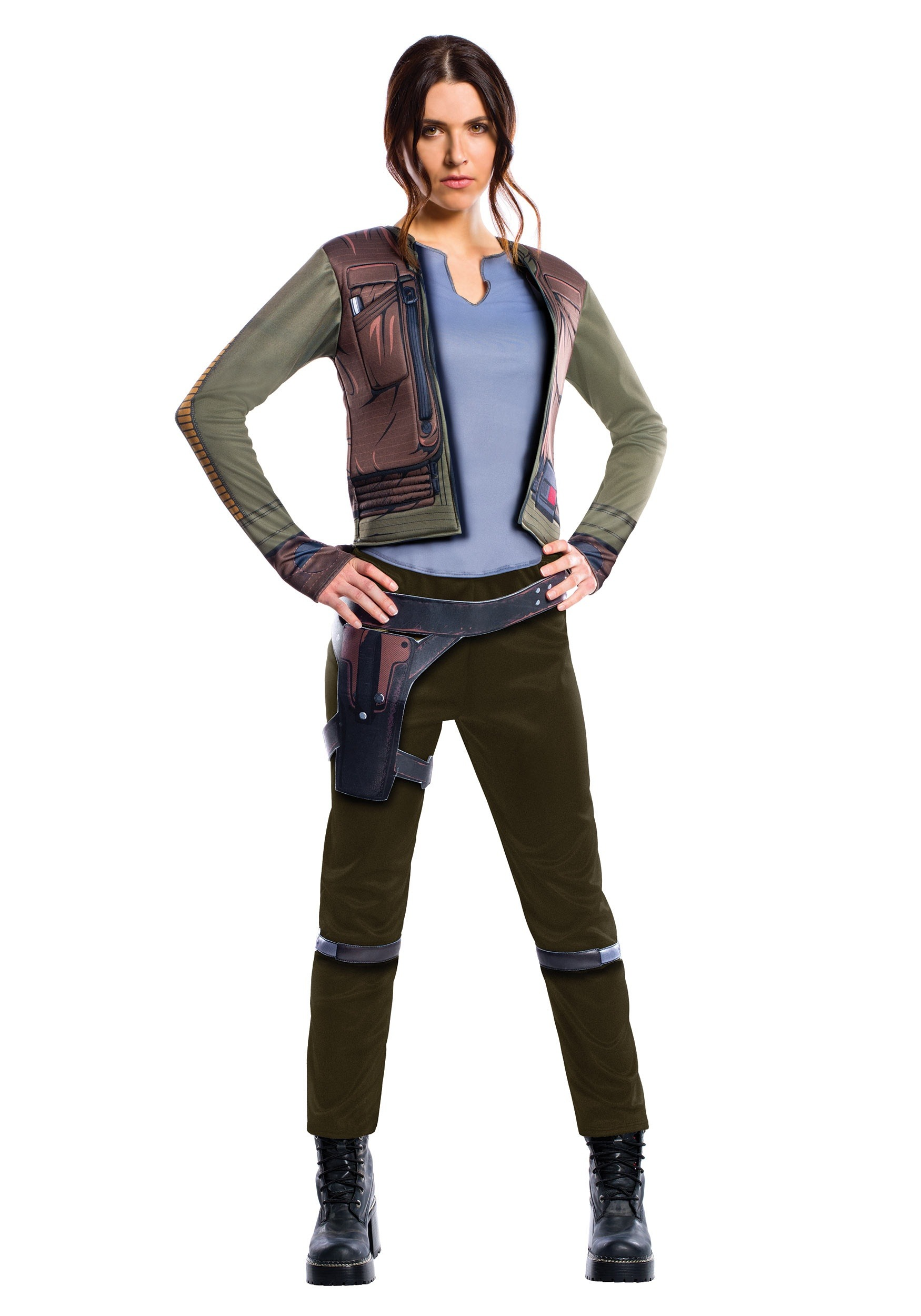 Star Wars Rogue One Adult Womenu0027s Deluxe Jyn Erso Costume  sc 1 st  Halloween Costumes & Womenu0027s Adult Deluxe Jyn Erso Costume from Star Wars: Rogue One