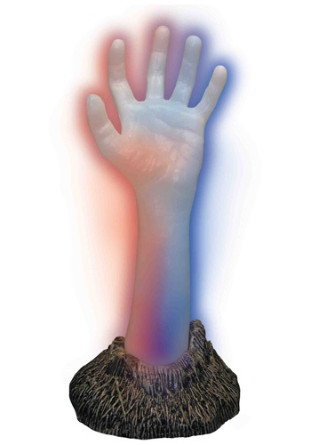 Light-Up Zombie Hand - Halloween Decorations, Light-Up Decorations By: Forum Novelties, Inc for the 2015 Costume season.
