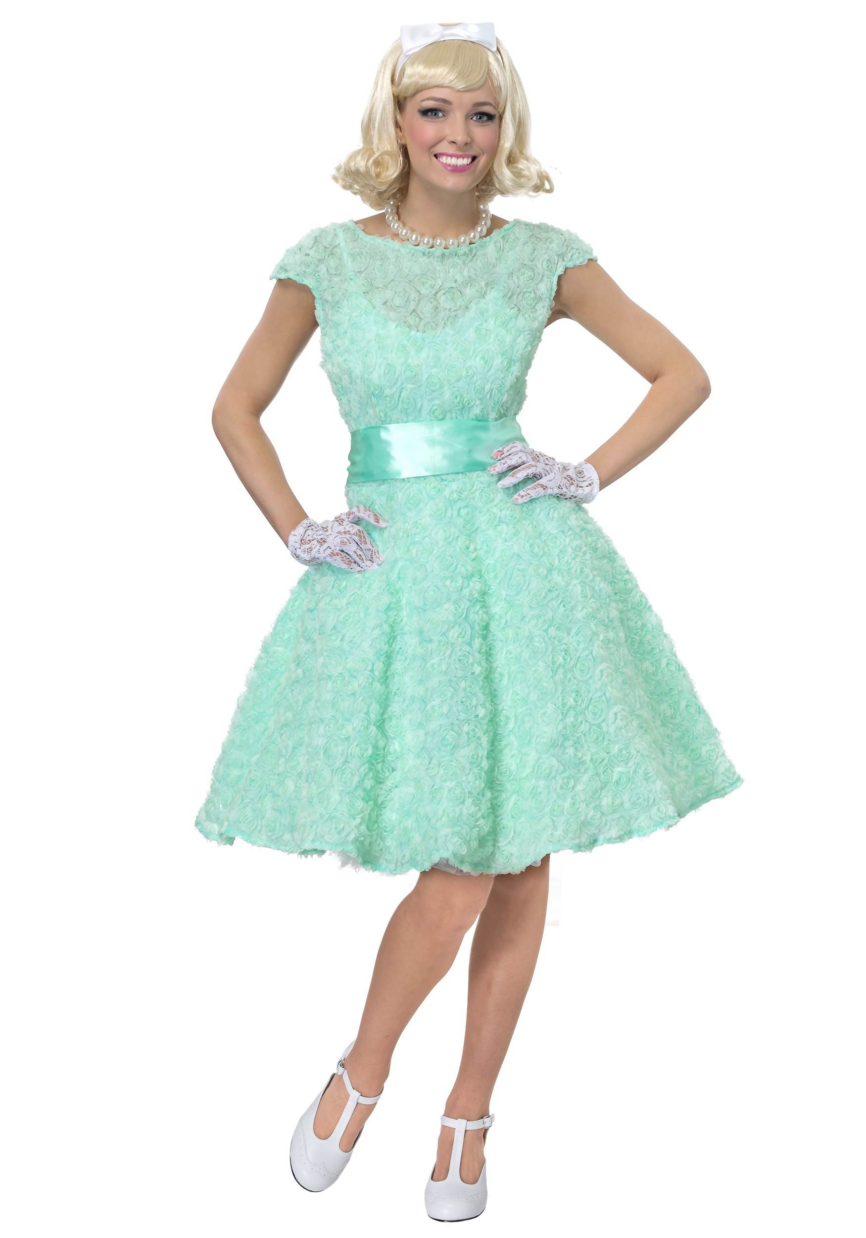 50s Plus Size Prom Dress Costume