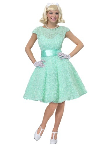 Image of 50's Women's Plus Size Prom Dress