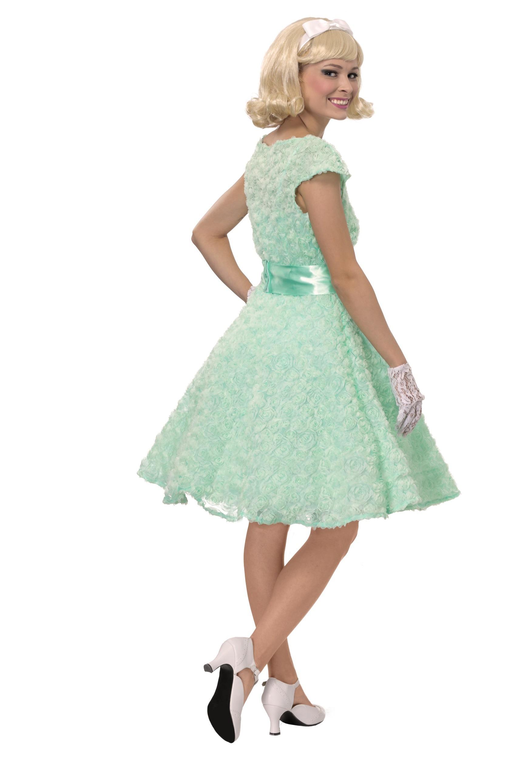 50s Womens Plus Size Prom Dress